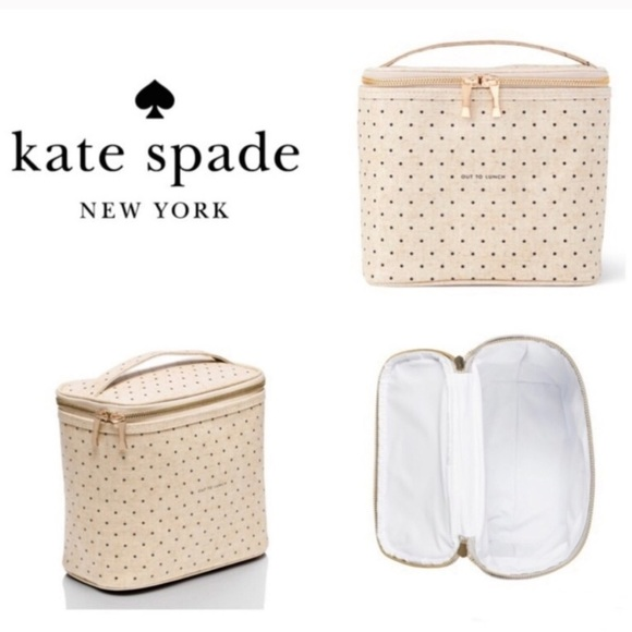 """♠️Kate Spade♠️ """"Out To Lunch"""" Hot/Cold Lunch Bag"""